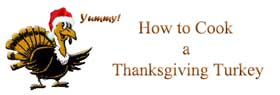 How to Cook a Thanksgiving Turkey Logo